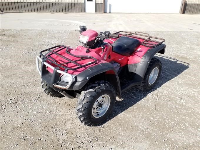 2006 Honda TRX500 4x4 ATV