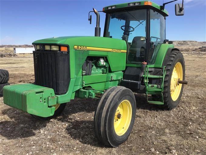 1996 8200 John Deere трактора 2WD