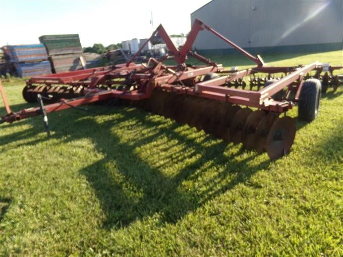Case IH 496 DH Winged Disk