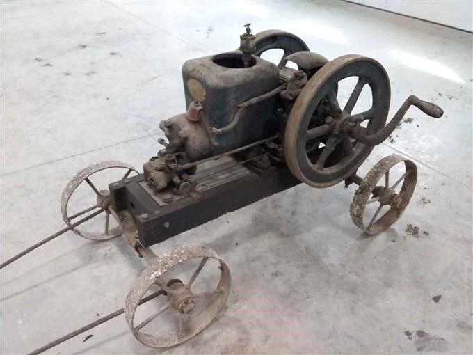 Fairbanks Motor auf Wagen