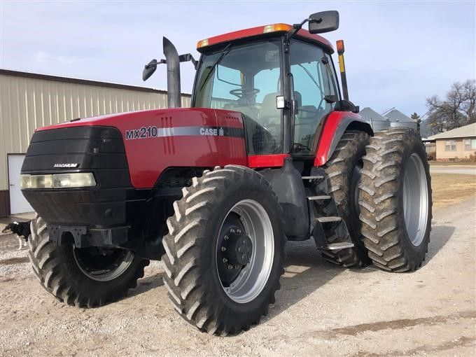 2004 Case IH MX210 MFWD Traktor mit Autosteer-Fähigkeit