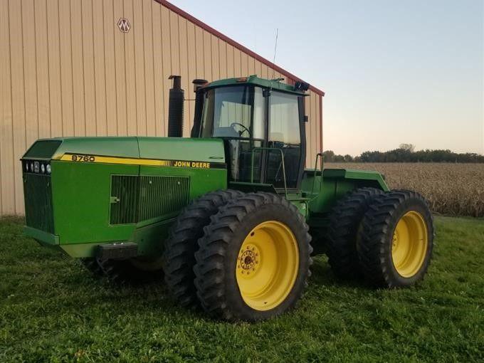 1991 John Deere 8760 4WD Traktor