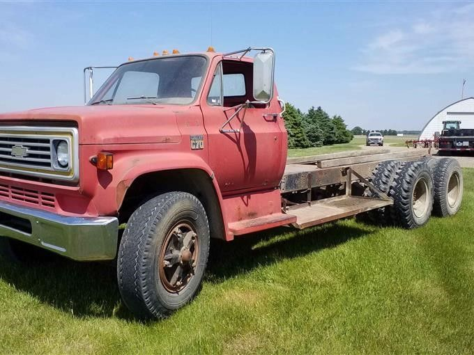 1979 Chevrolet C70 T / A Kabine & Fahrgestell