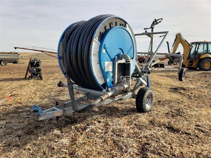 Ocmis Hose Reel Irrigation Travelling Large Gun