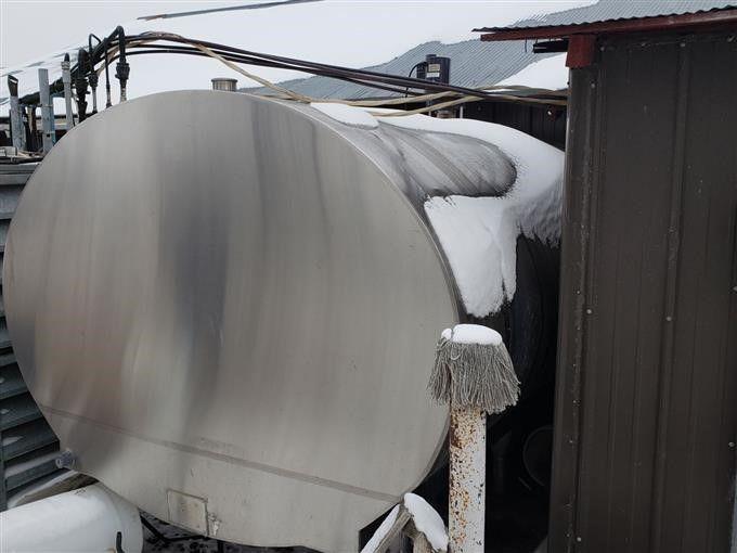 2000 Gallonen-SS-isolierter Milchtank