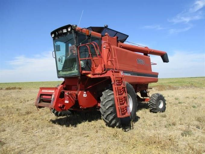 Case IH 1660 2WD Axialfluss-Kombination