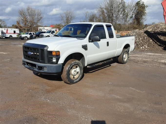 2008 Ford F250 4X4 Extended Cab Pickup