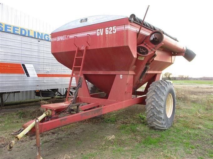 Brandt GV625 Getreidewagen