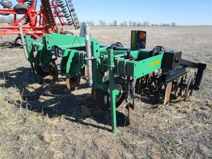 2012 Great Plains SS1300 Cat 3 montierter 5-Schaft-Min-Till-Ripper mit Sterling-Packer
