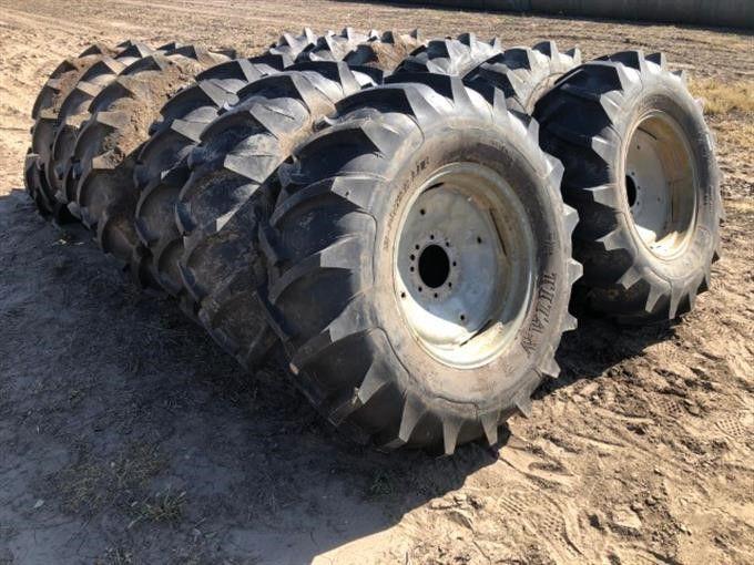 Titan HI Power Lug 14.9-24 Pivot Reifen und Felgen