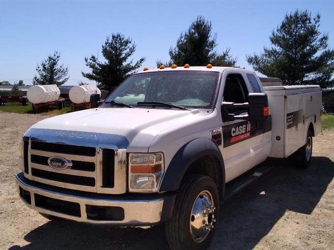 2010 Ford F450XLT Super Duty Service / Utility Pickup