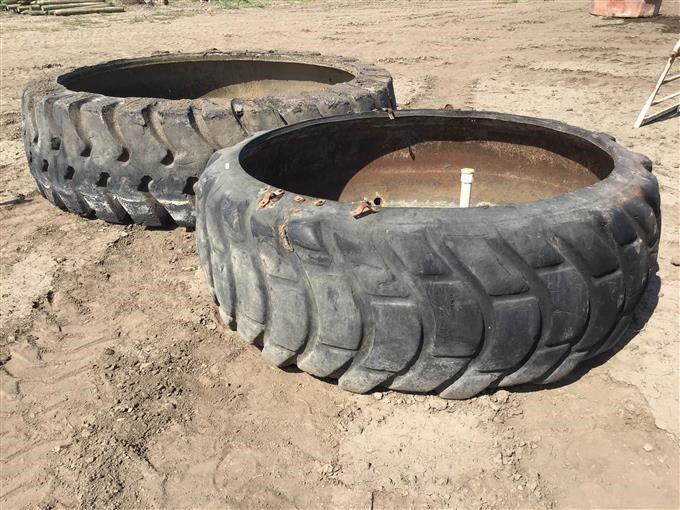 Gummireifen-Wassertanks