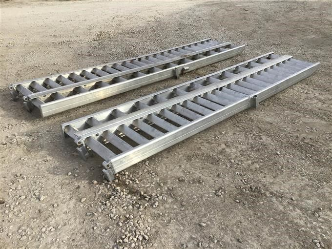 Landoll Aluminium Anhänger Rampen