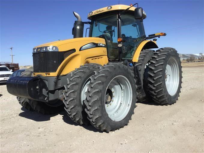 2014 Challenger MT685D MFWD Трактор