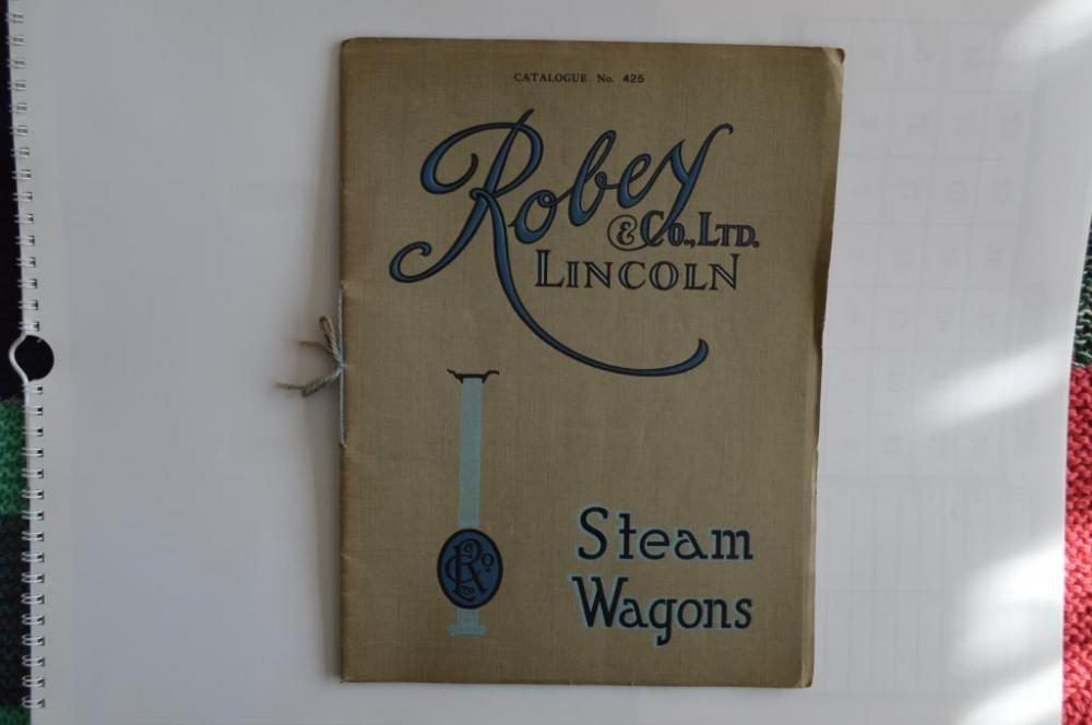 Robey Dampfwagen Katalog, Nr. 425