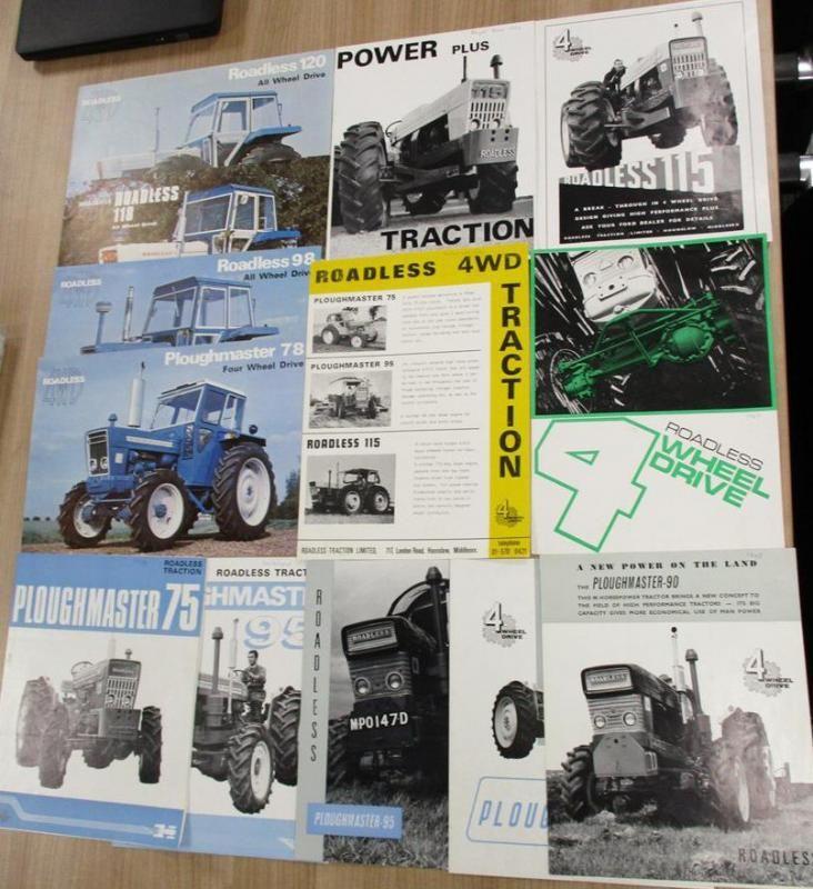 Roadless, eine feine Reihe von Traktorflyern, 1965-1976 (13)