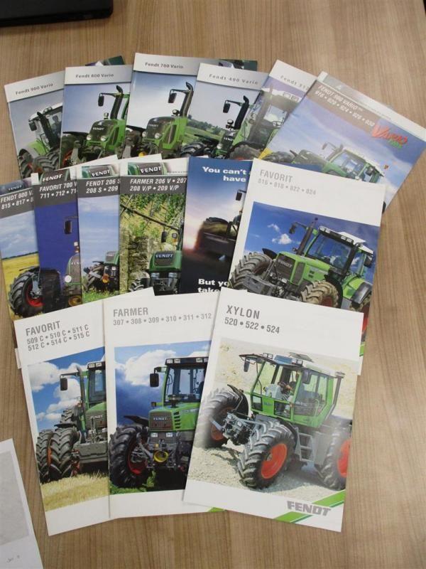 Fendt, 15 Traktormeldungen, ab 1990