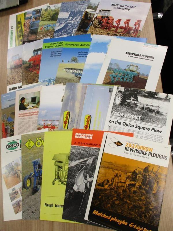 Pflug Broschüren und Flyer, ab 1960 verschiedene Hersteller