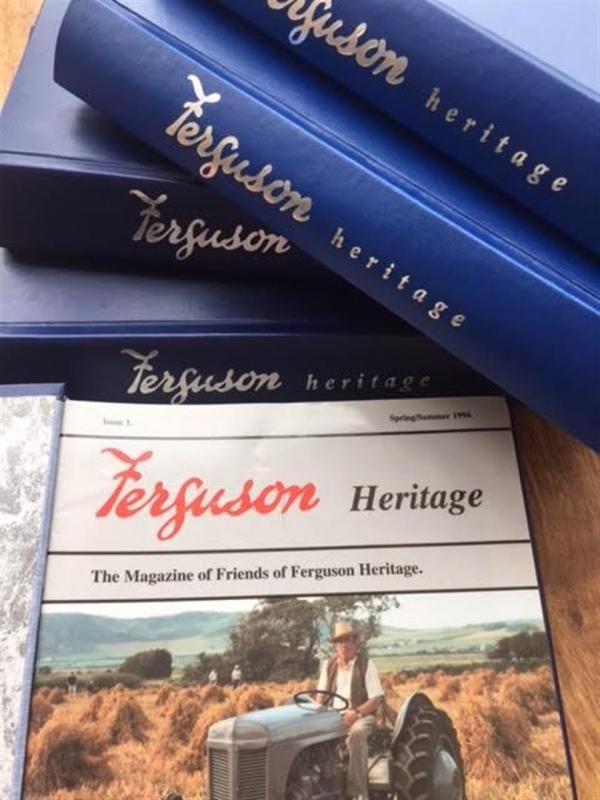 Ferguson Heritage Magazine in Falten, Ausgaben 1-60
