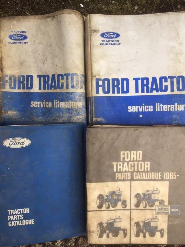 Ford Traktor Service Literatur und Handbücher