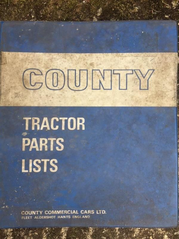 County 1254 und 1454 Teile Handbuch