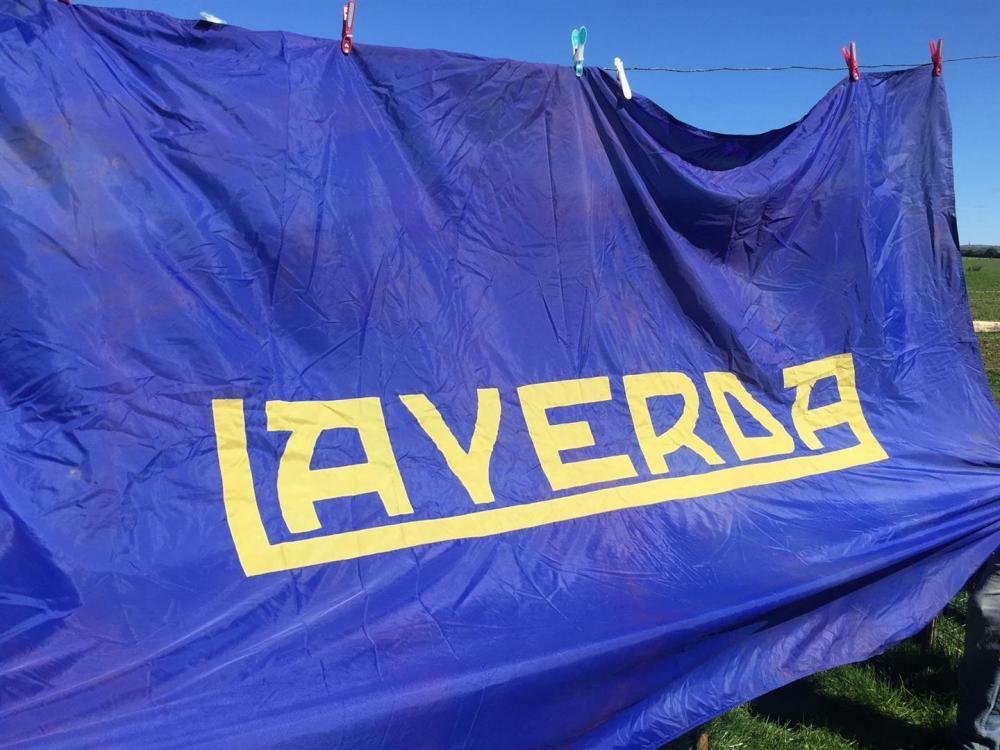 Laverda kombinieren Flagge