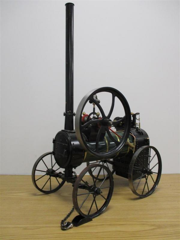 2ins Maßstab Live-Dampf-Modell von einem Lampitt & Co, Banbury tragbaren Motor, scheint unbedämpft z