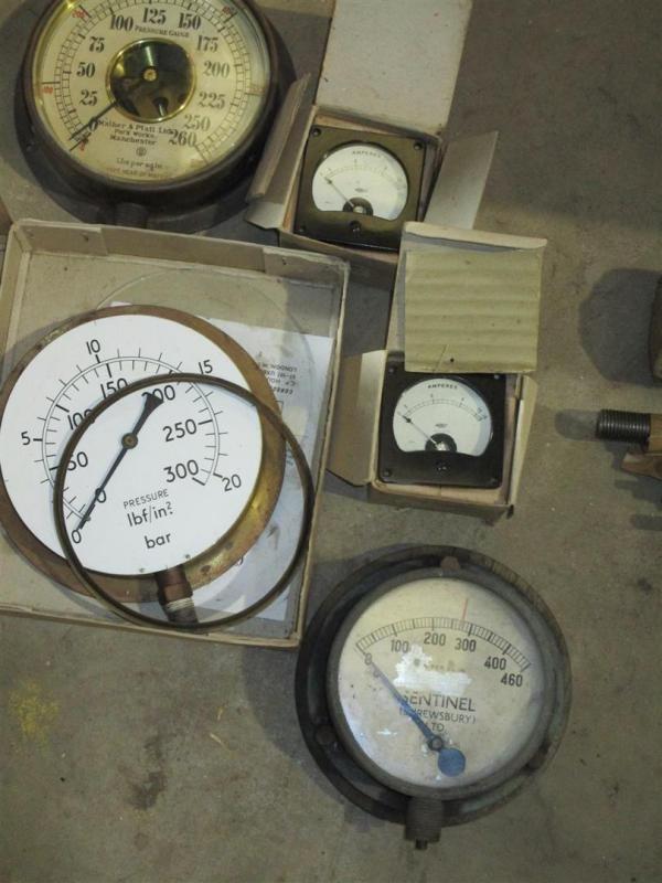 Sentinel Dampfwagen Manometer t / w andere etc
