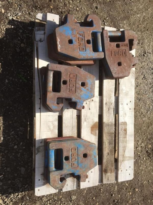 Ford 4000 Force Frontgewichte