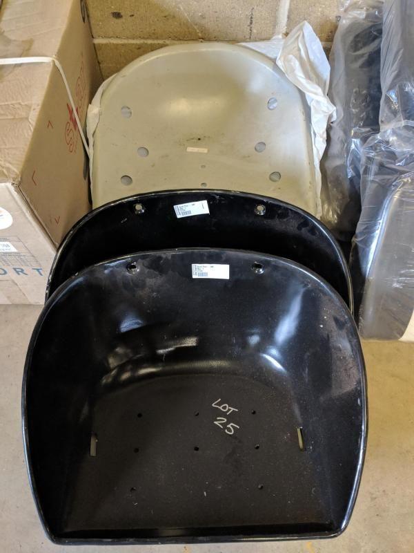 Anzahl Stahlsitzpfannen für Fordson, Massey Ferguson und 9 Lochpfannen
