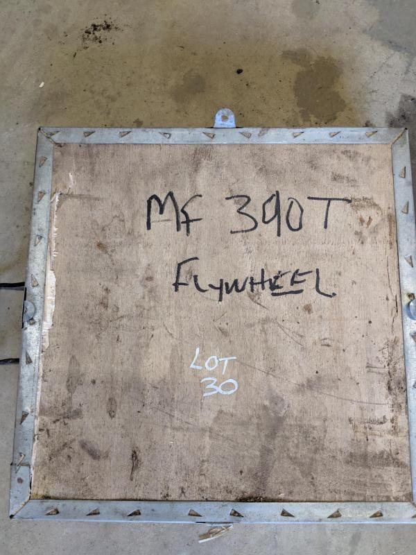 Schwungrad für Massey Ferguson 390T