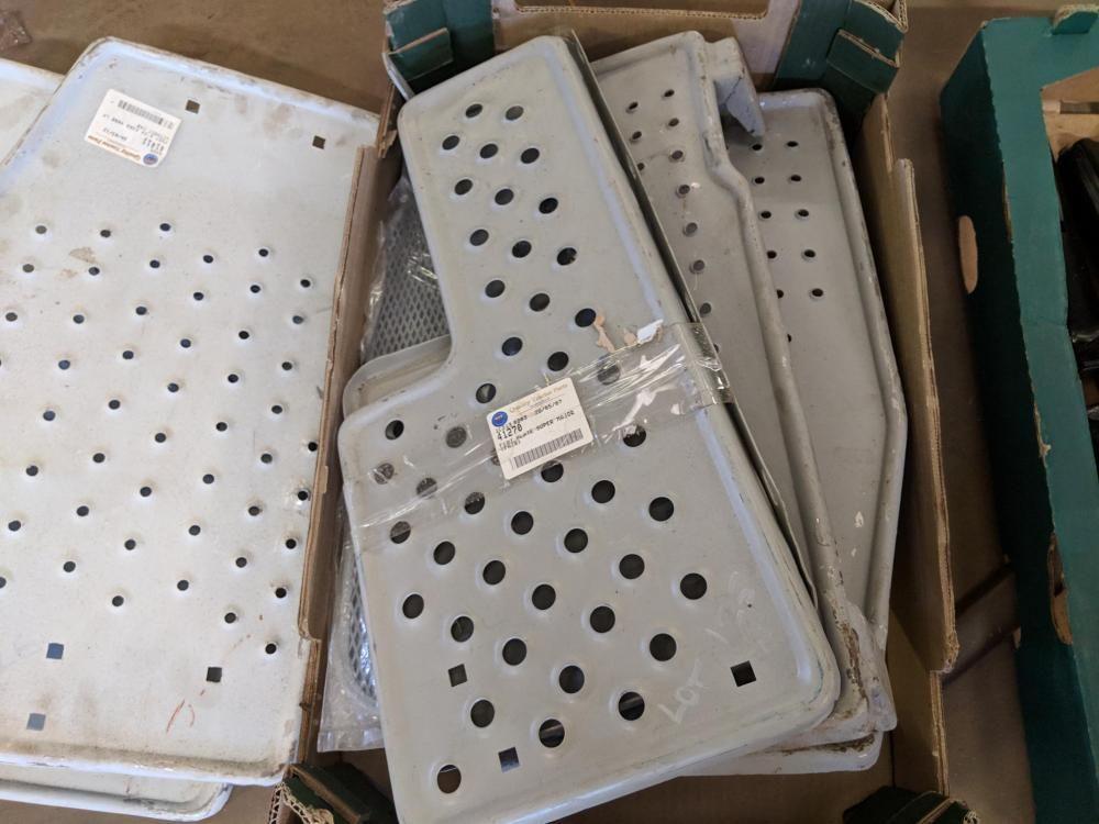 Anzahl der Fordson Major- und Super Major-Fußplatten