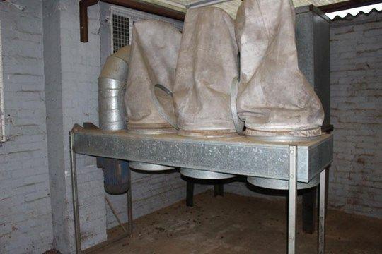 * Absauganlage für Staubabsaugung mit 3 Beuteln in Großbritannien. bitte beachten Sie