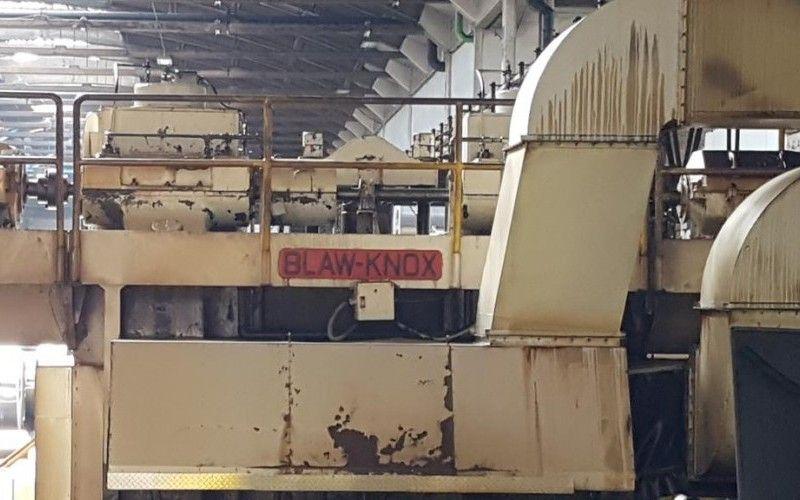 Zu verkaufen Blaw Knox Aluminium Hot Mill & amp; Achenbach 4Hi Reverseer-Kaltwalzwerk
