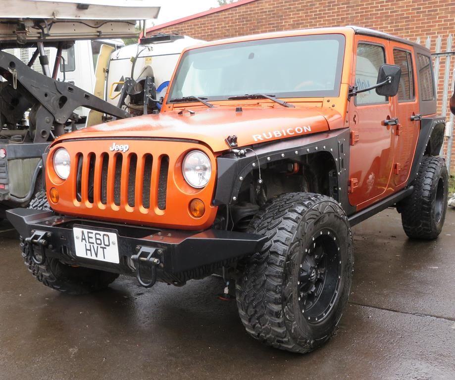 Jeep Wrangler Rubicon 3.5L V6 Offroad Sonderedition