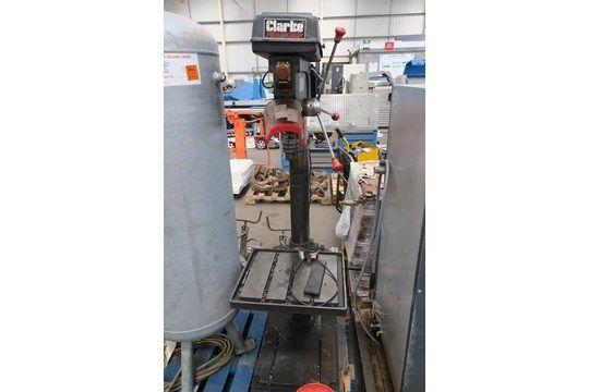 Clarke Metalworker CDP501F 12-fach Säulenbohrer 2