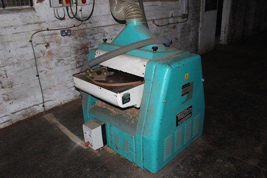 * Wadkin Bursgreen Hobelmaschine / Dickenhobelmaschine A Wadkin Bursgreen Type 24BAO Hobelhobelmasch