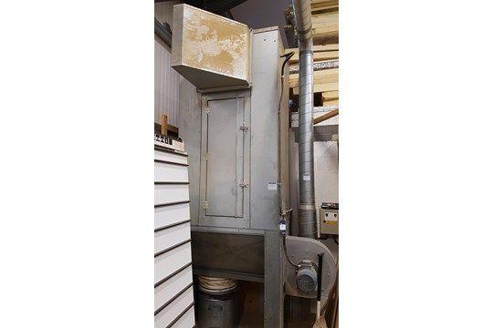 * Galvanisiertes Stahlfeinstaubfiltergehäuse A Vertikales Galvanisiertes Stahlfeinstaubfilter /