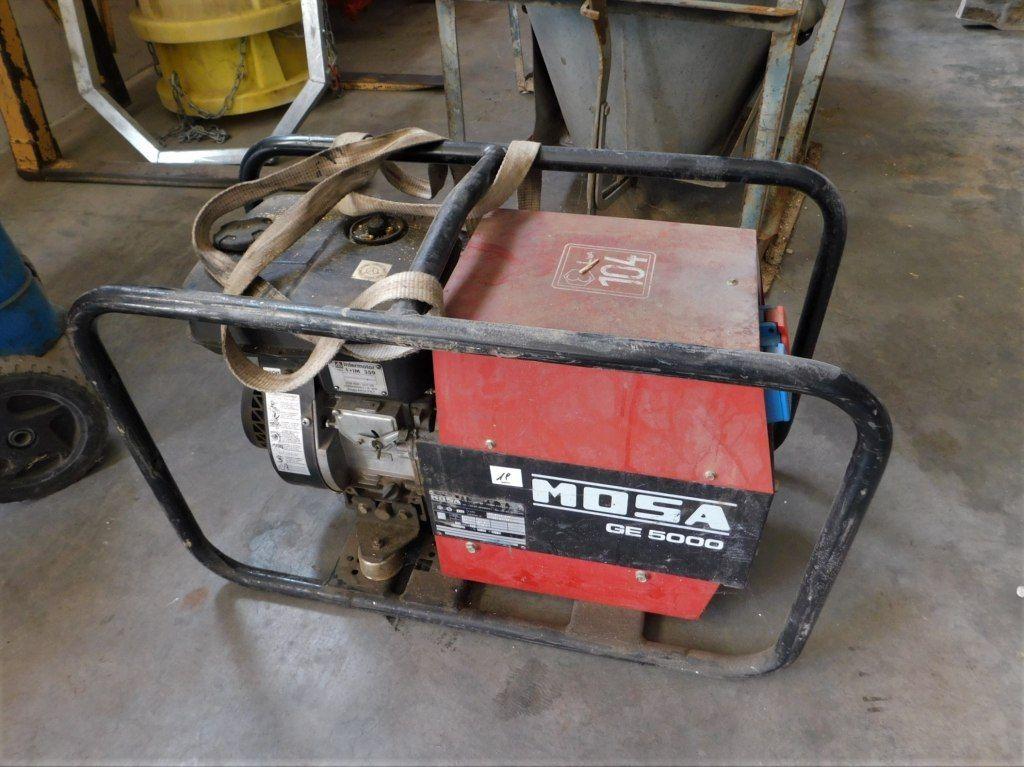 Mosa GE5000 B / S Generator Group