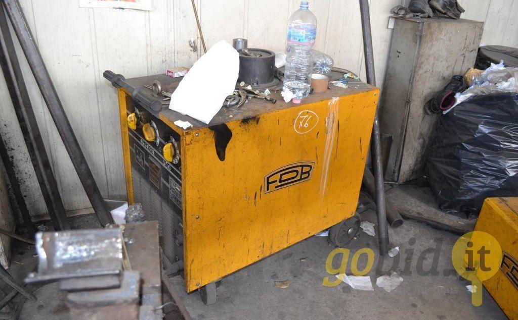 FDB Argofil650 Drahtschweißmaschine