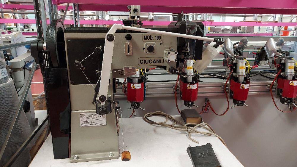 Maschinen zur Herstellung von Schuhen