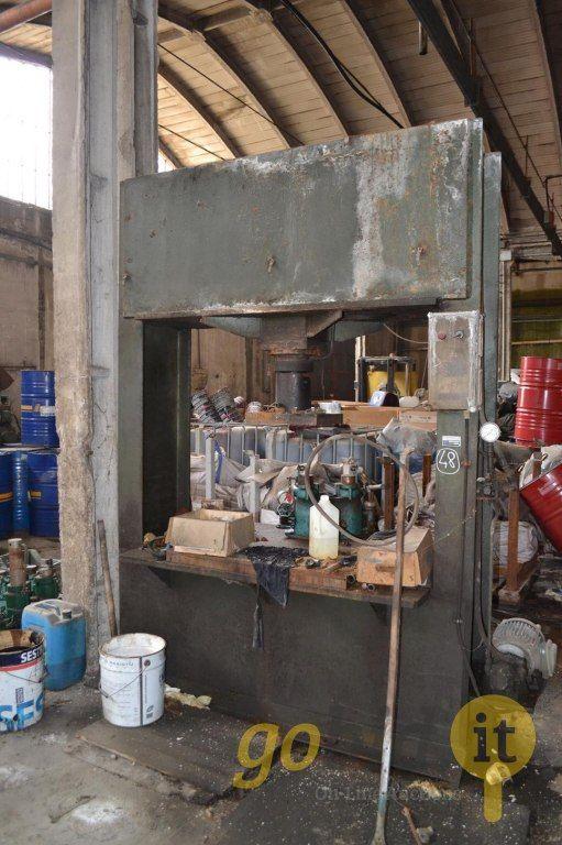 Vertikale hydraulische Presse 28T