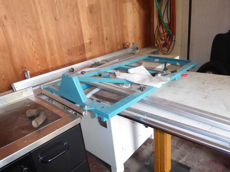 Plattensäge Punto400 Abrichtmaschine