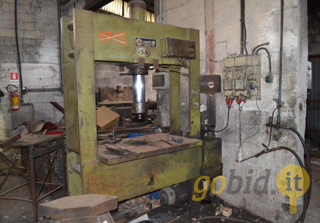 Vertikale hydraulische Presse 18T