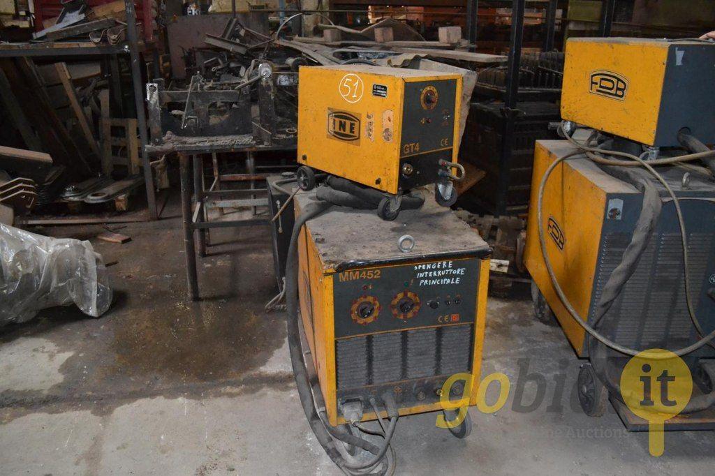 Ine MM452 Drahtschweißmaschine