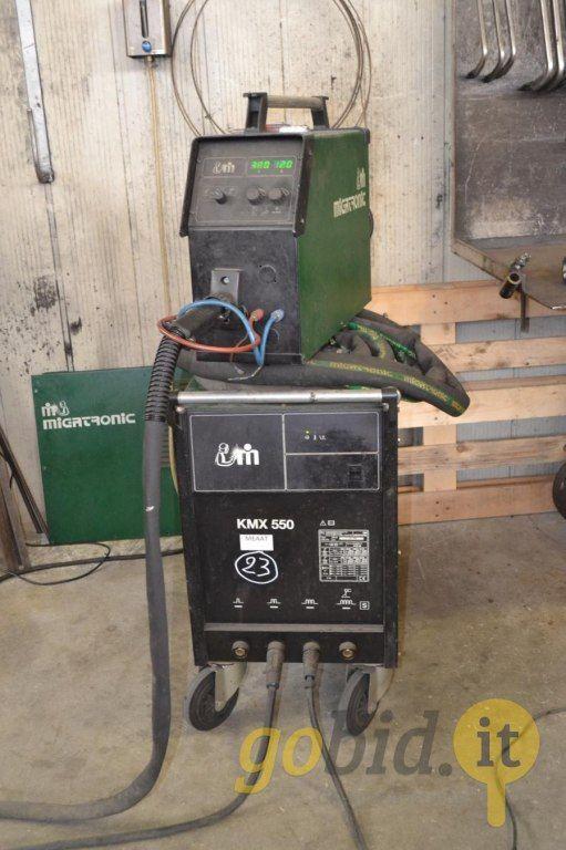 Migatronic KMX550 Schweißgerät