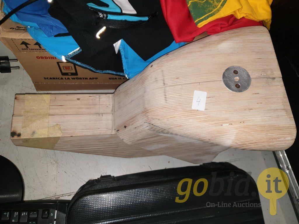 Holzform für Tank