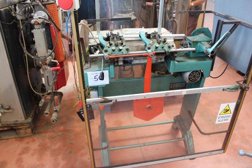 Scomar Flache Strickmaschine