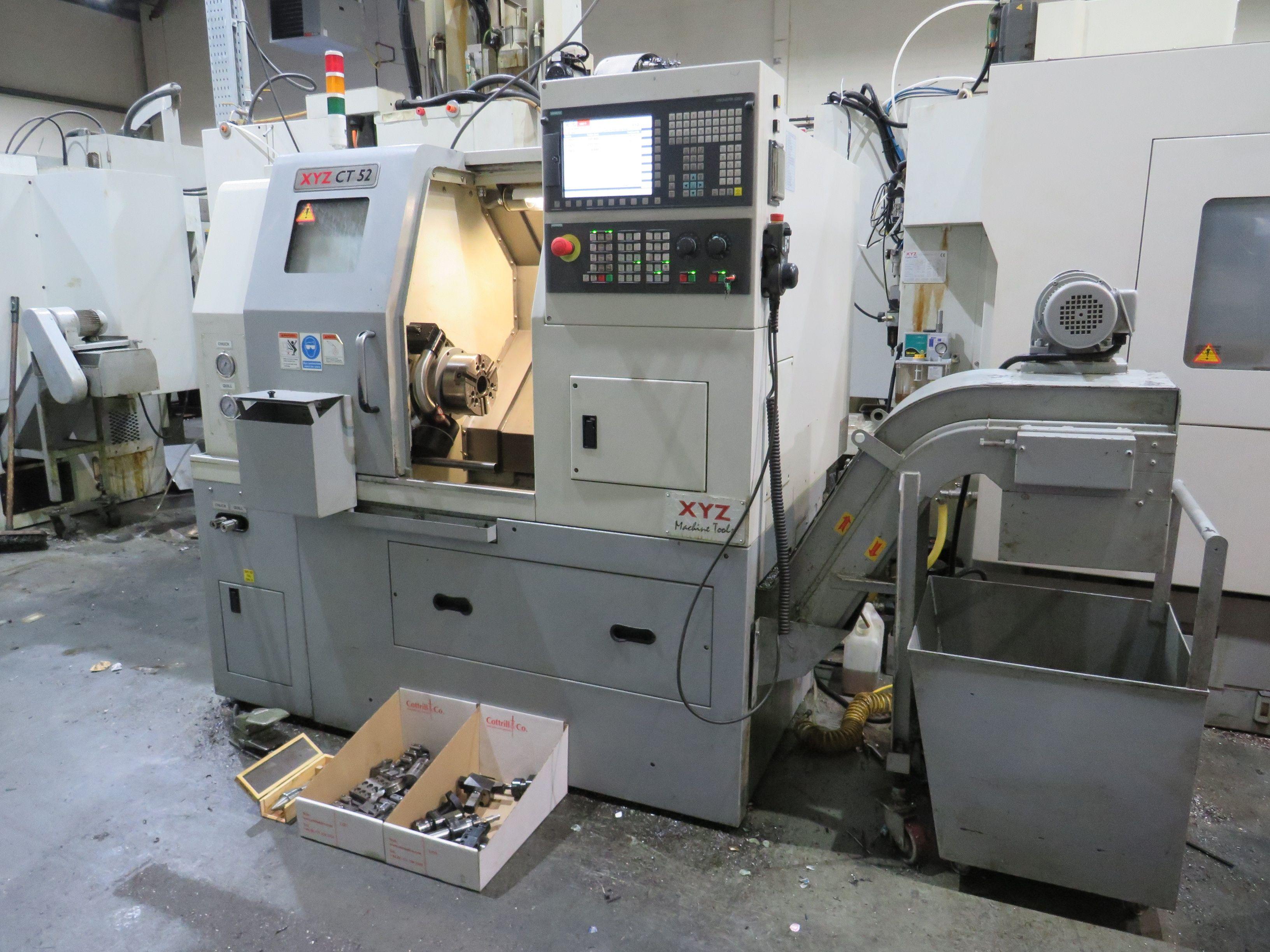 XYZ Compact Turn 52 Drehmaschine