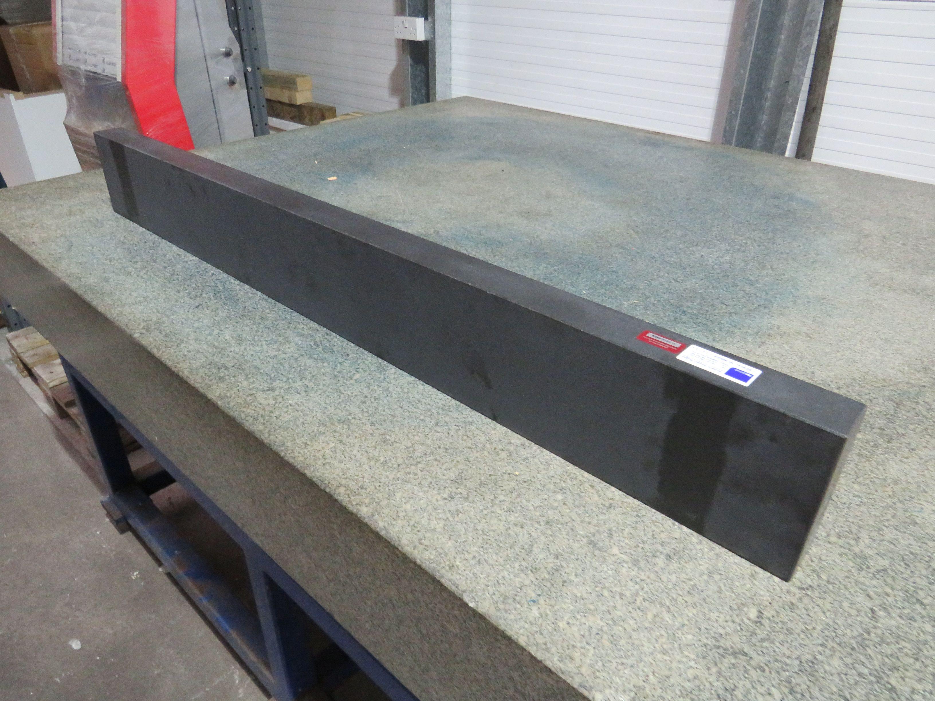 4ft Granit Straight Edge & amp; 4ft Granitoberflächenblock